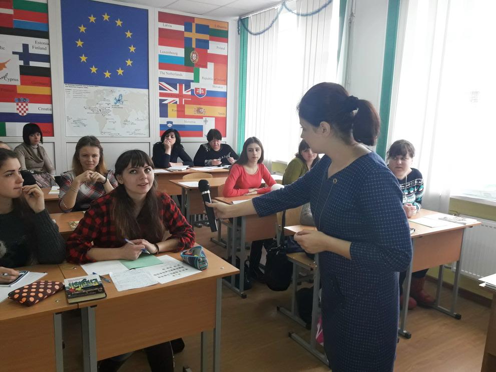 Студенти навчилися писати біографію англійською мовою