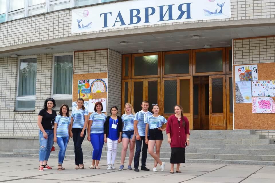 Волонтер проекту GoGlobal розпочала роботу у дитячому санаторії «Таврія» у м. Скадовськ