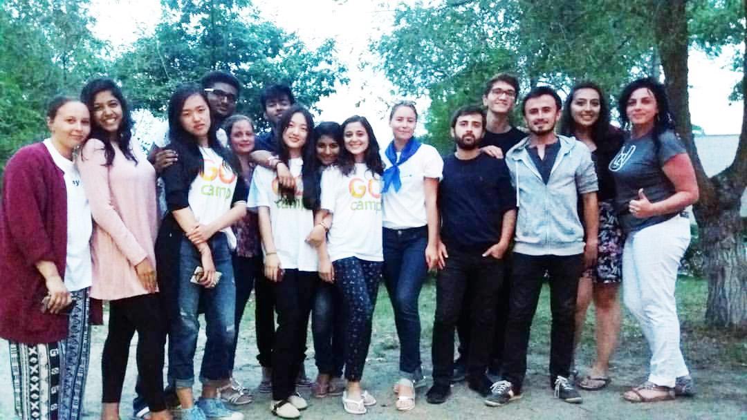 Як наші студенти працюють з волонтерами проекту «GoCamp»