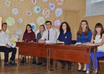 Передвиборчі дебати кандидатів у президенти студентського колективу