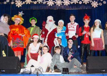 Студенти подарували новорічне дитяче шоу учням 1-4 класів шкіл м. Берислав