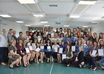 Вітаємо директора та викладачів з отриманням свідоцтв майстрів-тренерів у рамках проекту DOCCU