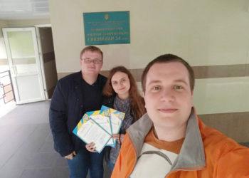 Вітаємо Владислава Гудима та Анну Єфтемій з ІІІ командним місцем у регіональній олімпіаді з інформатики