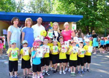 Інтерактивне дійство від педагогічного коледжу до Дня захисту дітей у місті Берислав
